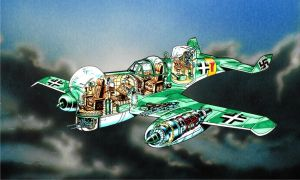 Fictional German Jet Cutaway 2 by Frohickey