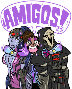 ... So Sombra has just been revealed... by MichaelJLarson