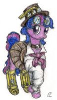 Steampunk Cyber Twi by otherunicorn
