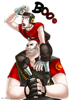 TF2: BOO :RED: by DarkLitria