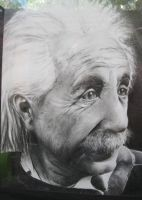 Einstein by luismonroy