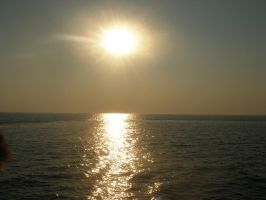 sunset on the Black Sea by 093374