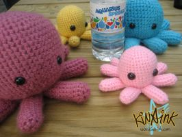 Big Fat Pink Octohead by kina