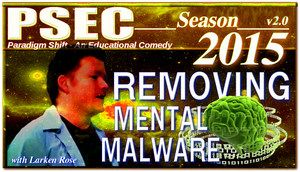 PSEC 2015 Larken Rose in Removing Mental Malware by paradigm-shifting
