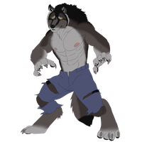 werewolf wednesday 8/1/2012 by sonicjr53