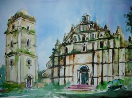 Paoay Church 2 by p-e-a-k