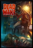 Dead Wake : Hunger for Revenge cover by WacomZombie