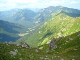 Stock 420: summer mountains 11 by AlzirrSwanheartStock
