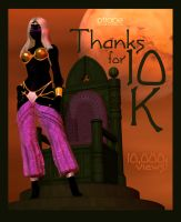 Black Pirate Queen 10K by Ptrope