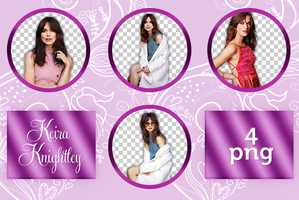 Keira Knightley Png Pack by LightsOfLove