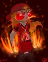 Red Flame by polarbear1234