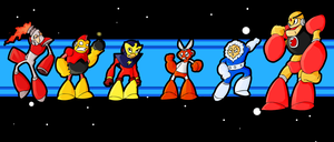MM1: Robot Masters by MKsBigBrother