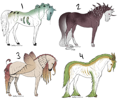 Equine Offer To Adopts 2 CLOSED by gyngercookie