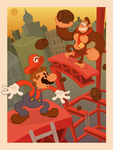 1920's Mario by ItsFrisbee