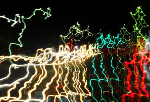 Colored Lights Stock 6 by Orangen-Stock