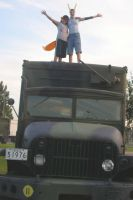 Idiots on a truck by DasMinty