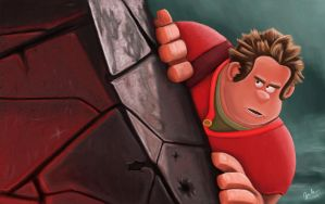 Wreck it Ralph by JCobes