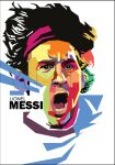 Messi in WPAP by wedhahai