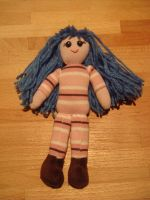blue haired doll by Shoshannah84