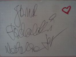 Jared Padalecki autograph by BlackLuna2505