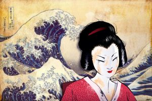 The Wave And The Geisha by joslin
