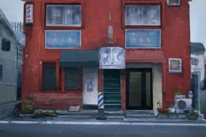 Streets of Shikama - Practice #11/100 by qs2435