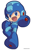 Megaman (Official Style) by ultimatemaverickx