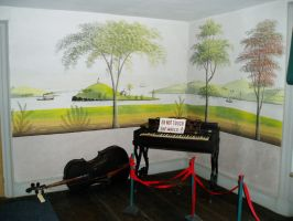 Rufus Porter Wall Paintings by lilly-peacecraft