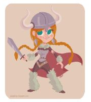 viking girl by tinysnail