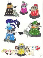 SSU Official Bios: Daleks by EmperorNortonII