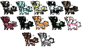 Adopts ALL TAKEN by XxAdoptxX