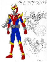 Kamen Spider by GarthTheDestroyer