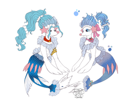 Kale and Haupia primarina by tigersylveon