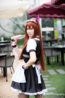 [Steins gate] Kurisu Makise Maid by NyaaPhoto