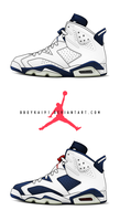 2000 Air Jordan 6 Retro+ by BBoyKai91