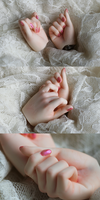 Elfdoll Fist Hands by NiuKy