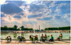 Tuileries by SebKaiser