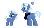 Custom: LunaDiamond foal for NightmareLunaFan by Strawberry-Spritz