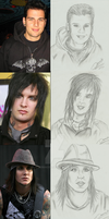 Avenged sevenfold Drawings by 4everbacon