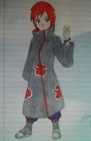 Colored Akatsuki outfit- Chy by usagiboy