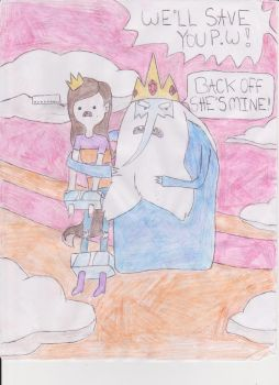 Kidnapped by the Ice King by Bragalia