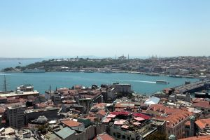 Istanbul - View from Galata Tower III by puppeteerHH