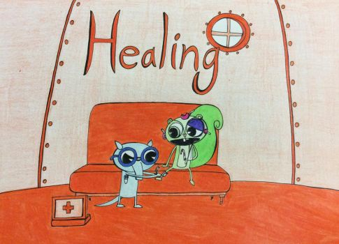 Healing - Fixing Up Injuries by Midnight-Lovestruck