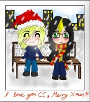 Christmas picture: digital media by TheSilentArtist2225
