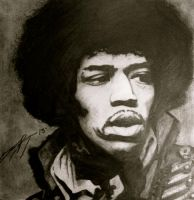 Jimi Hendrix by CourtneyyChristine