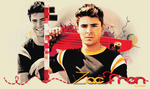 Zac Efron Header by inmany