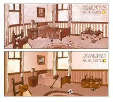 Juanito goes West -first ideas by arwenita