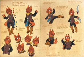 FW OCT Jade ref sheet by Kiqo7