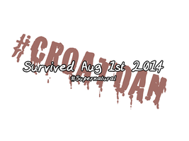 I Survived #CroatoanDay by Temrin