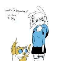 Fionna and Cake by Radiophobiaa